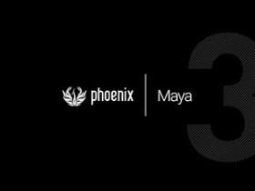 Phoenix FD 3.12.00 for Maya 2018 破解版