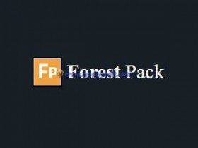 Itoo Forest Pack Pro 6.1.1 for 3ds Max 2010-2018森林树木植物插件