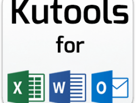 Kutools for Excel 18.00 / Word 9.0 / Outlook 10.0破解版