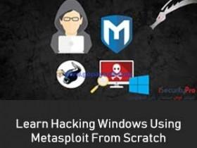 Udemy – Learn Hacking Windows 10 Using Metasploit From Scratch 2018-6