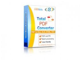 Coolutils Total PDF Converter 6.1.0.191中文破解版